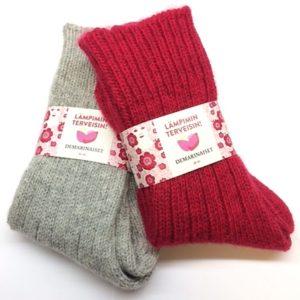 Demarinaisten sukat molemmat